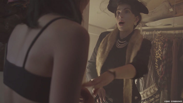 Eleanor Roosevelt Leaves the Closet and Time-Travels in New Webseries