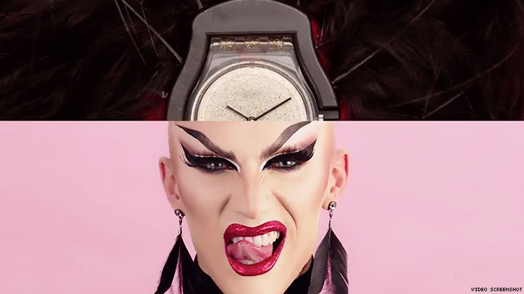 "Swatch Gets a ""Glam"" Makeover with Sasha Velour"