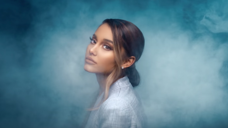 Ariana Grande Has Her Head In The Clouds In Breathin Music Video
