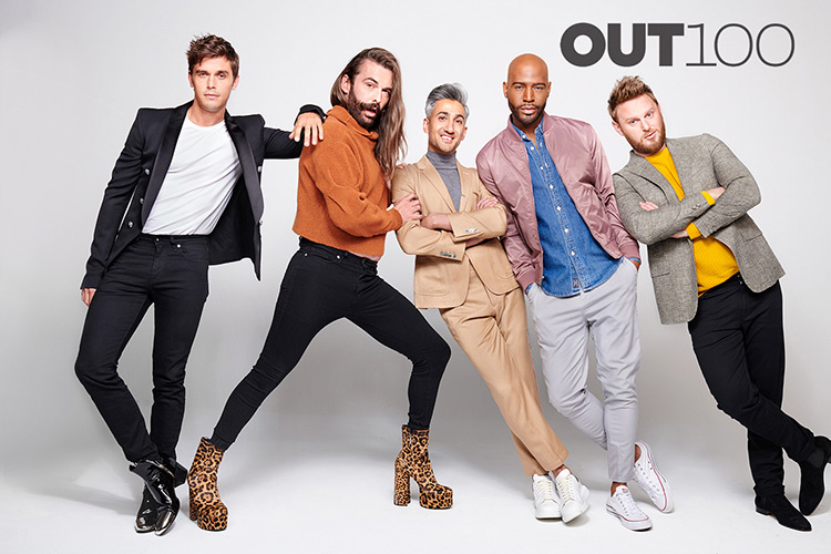 29cc64a3b93 OUT100: The Cast of Queer Eye, Entertainers of the Year