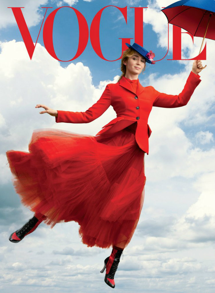 Emily Blunt Mary Poppins Vogue Full 0