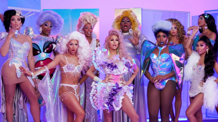 4f53aa6bfebea5 Watch the All-Stars 4 Queens Behind the Scenes of Their Promo Shoot.  Rupaul s ...
