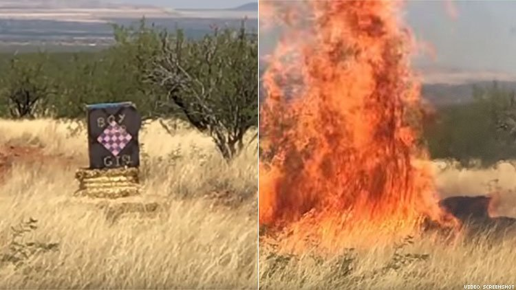 Border Agent's Gender Reveal Party Explosion Causes $8.2 Million Fire