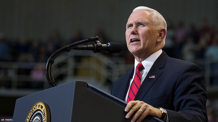 Mike Pence, Notorious Homophobe, Is Speaking on World AIDS Day at the White House