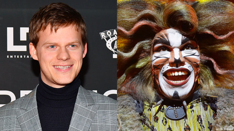 Lucas Hedges Paid Homage to the Slutty Feline Icon of 'Cats'