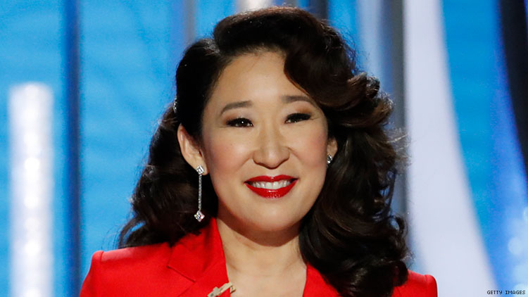 2019 Golden Globe Awards co-host Sandra Oh's opening monologue celebrates Crazy Rich Asians and Black Panther.