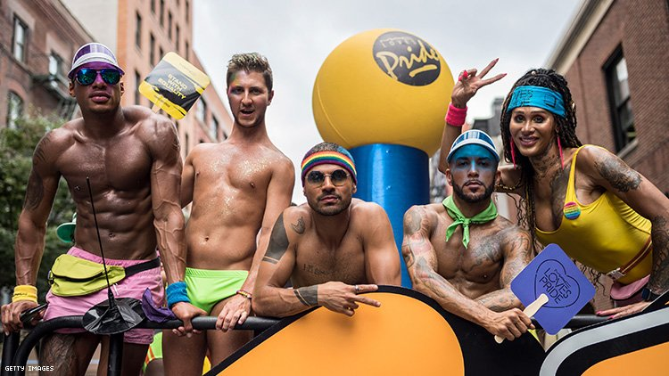 Pride Float Photo