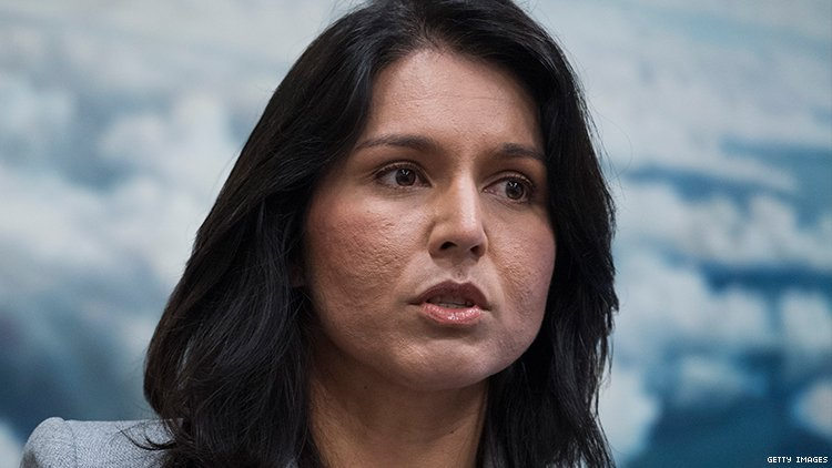 Tulsi Gabbard, running for President in 2020, apologies for homophobic comments.