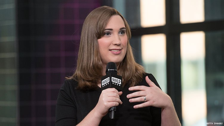 "Transgender advocate Sarah McBride harassed by two cis women on behalf of ""LGB community."""