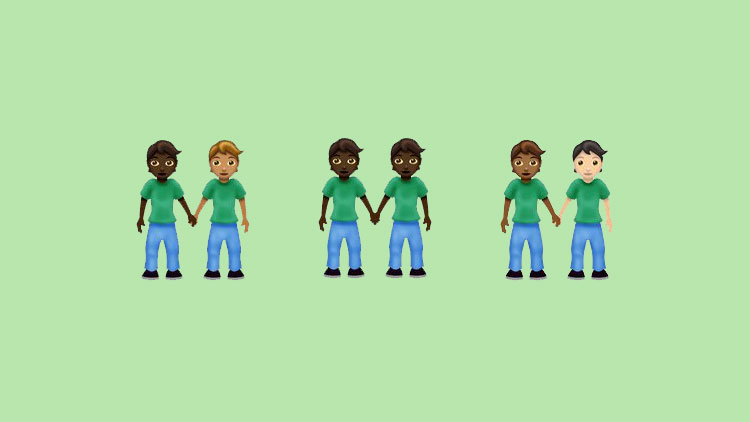 A Gender Neutral Couple Emoji Is Finally Here