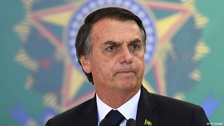 Brazilian president Jair Bolsonaro cracks down on LGBTQ+ material in schools.