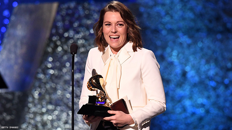 Brandi Carlile Thanked Queer Misfits in Her Grammys Acceptance Speech