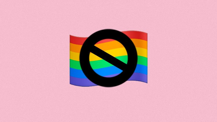 UPDATE: Viral Anti-Pride Flag Emoji Is Not a Glitch, Says