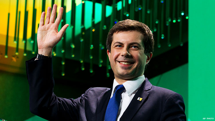 Indiana Mayor Pete Buttigieg is running for president, but what is his platform? In this profile, he discusses FOSTA-SESTA, trans prisoners' surgeries, Mike Pence, the Equality Act, and more.