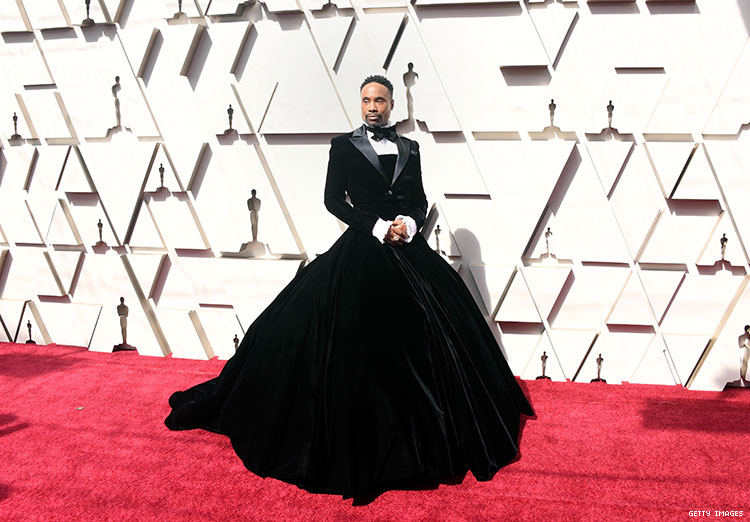 Billy Porter Wore a Tuxedo Gown to the Oscars Red Carpet