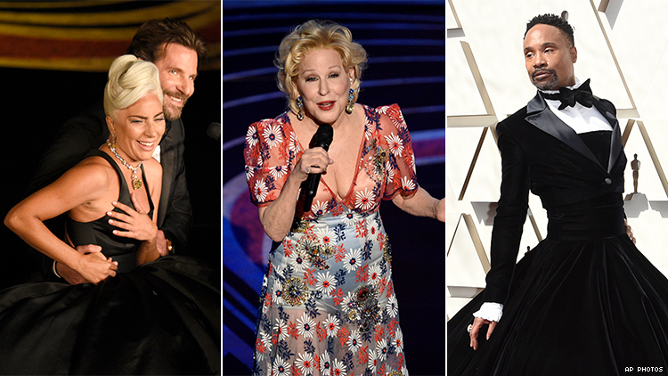 All the Oscars Moments That Made Us Scream