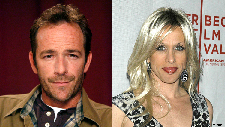 Remembering Luke Perry's Friendship with Trans Icon Alexis Arquette