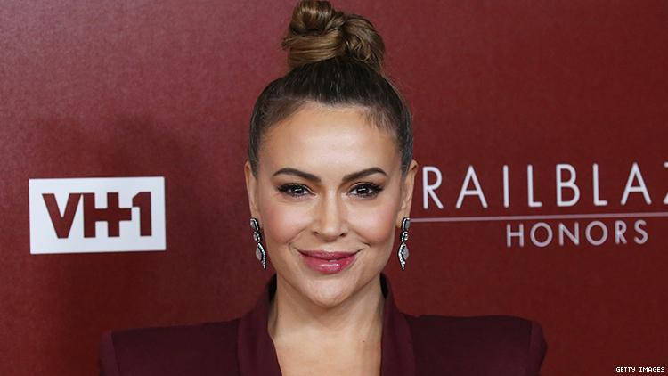 Alyssa Milano Says 'I'm Trans,' Is Not Trans