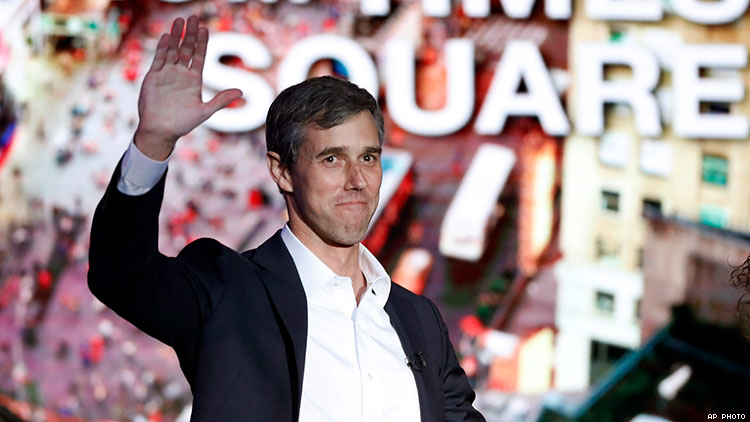 Beto O'Rourke is running for president. Where does he stand on LGBTQ+ rights?