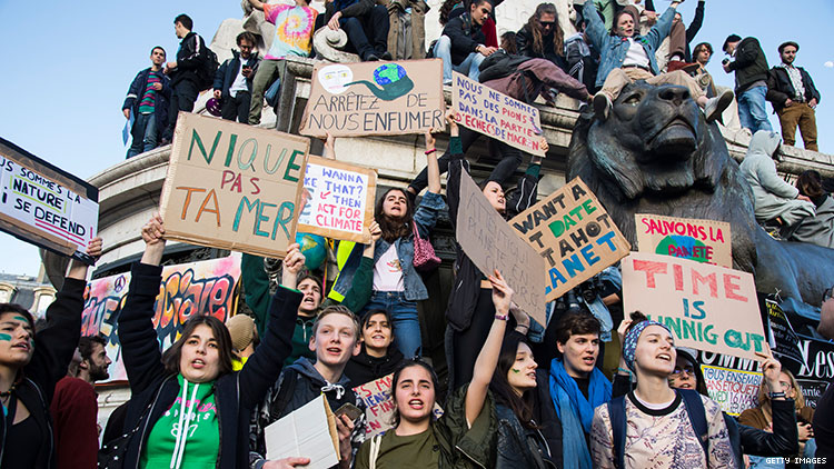Teenagers Are Going to Save Our Whole Planet from Doom
