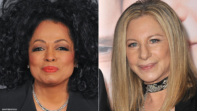 Barbra Streisand and Diana Ross Had Rough Takes on 'Leaving