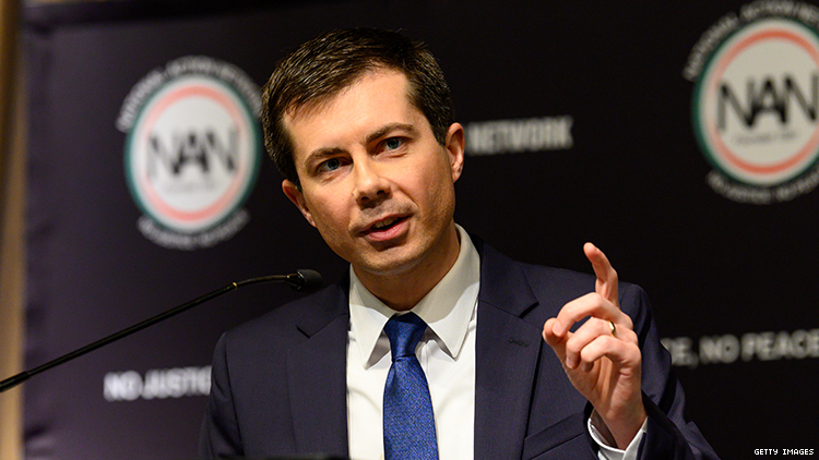 Pete Buttigieg announces official bid for president