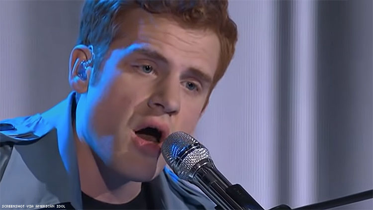 Gay Pastor's Son Performs Elton John Tribute on 'American Idol'