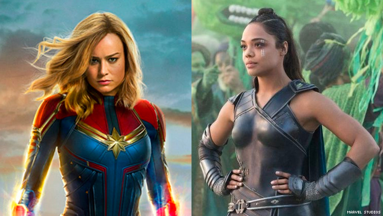 Tessa Thompson Says 'It's Time' for a Valkyrie/Captain Marvel Hook Up