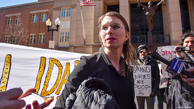 Chelsea Manning's bid for release from jail on bail denied by federal appeals court.