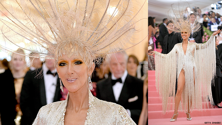 Celine Dion Thought the Met Gala Was About Camping