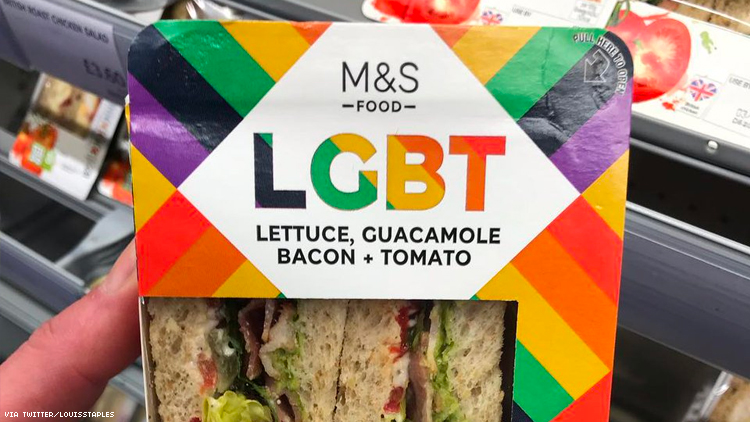 Marks and Spencer ignites outrage over LGBT sanwich, but is the sandwich all that bad?