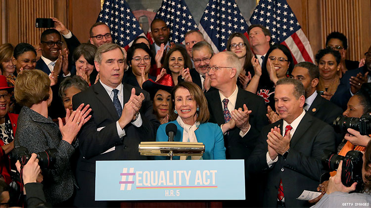 House Passes Equality Act in Historic Vote