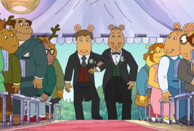 Arthur Gay Wedding