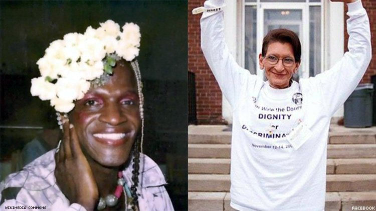 Marsha P Johnson and Sylvia Rivera