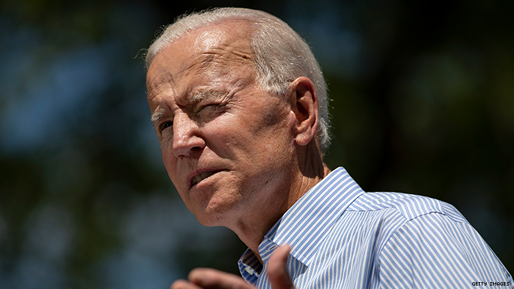 Joe Biden promises to pass the Equality Act if elected president in 2020.