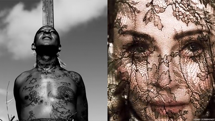 Madonna's New Music Video Stars Queer Rapper Mykki Blanco