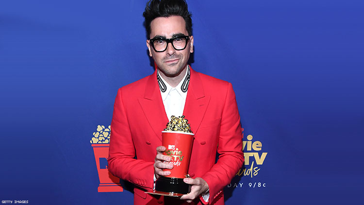 Watch Dan Levy's MTV Movie and TV Awards Acceptance Speech