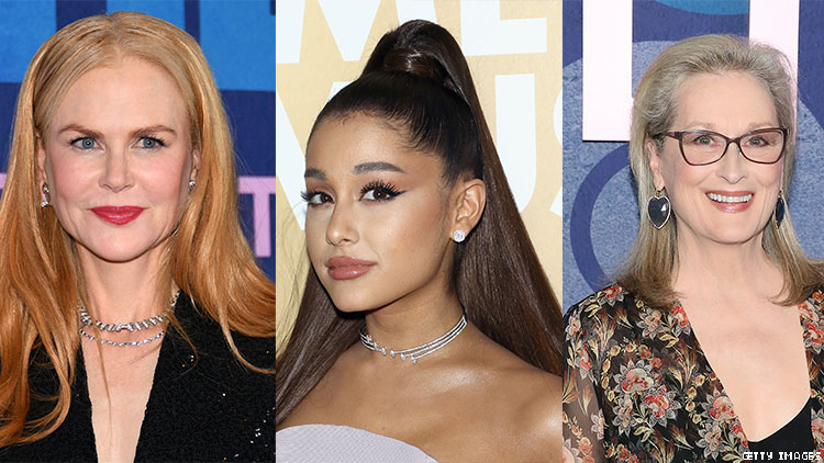 Gay Screaming: Meryl Streep and Ariana Grande Star in Netflix Musical