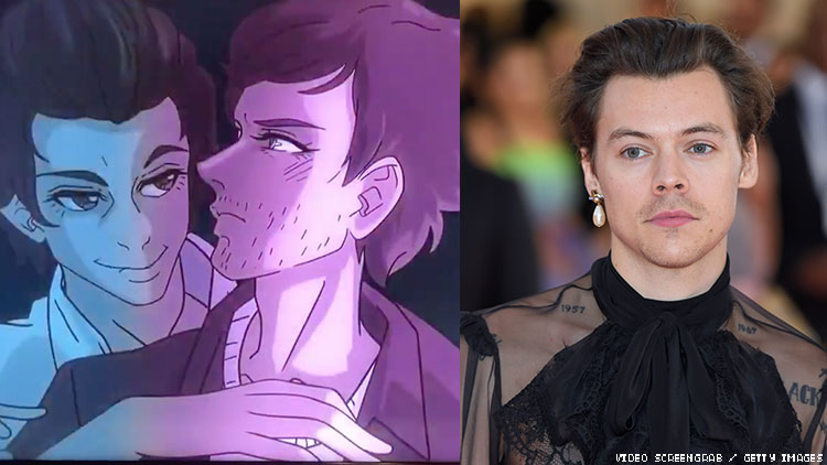 This Week's 'Euphoria' Had an Animated Harry Styles Gay Sex Scene