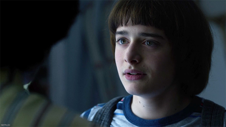 """""""Stranger Things"""" star Noah Schnapp agrees Will Byers might be gay."""