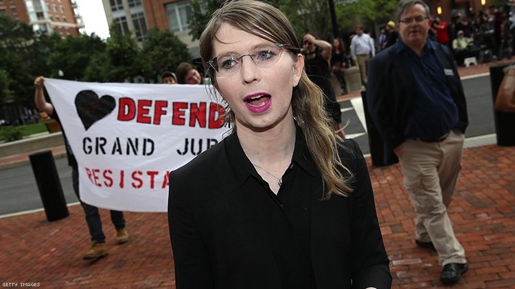 Chelsea Manning is still in jail.