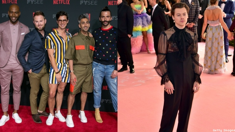 'Queer Eye's Fab Five Taught Harry Styles How to Use Grindr
