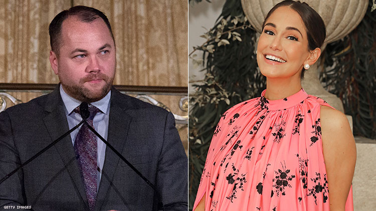 The Wing Founder Audrey Gelman Calls Out Gay Politician Corey Johnson for Posting Shirtless Photo