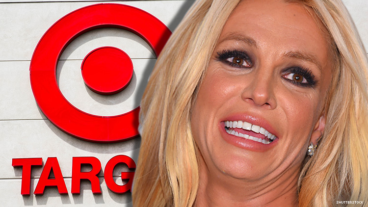 Relatable Icon Britney Spears Loves Shopping at Target, Just Like You