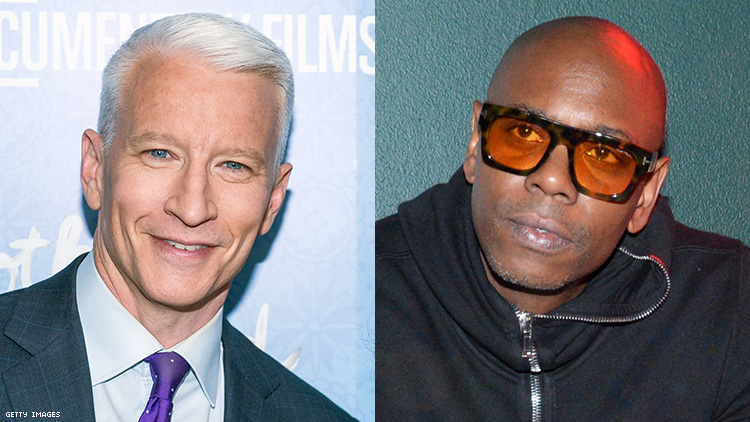 Anderson Cooper Was at That Homophobic Dave Chappelle Concert