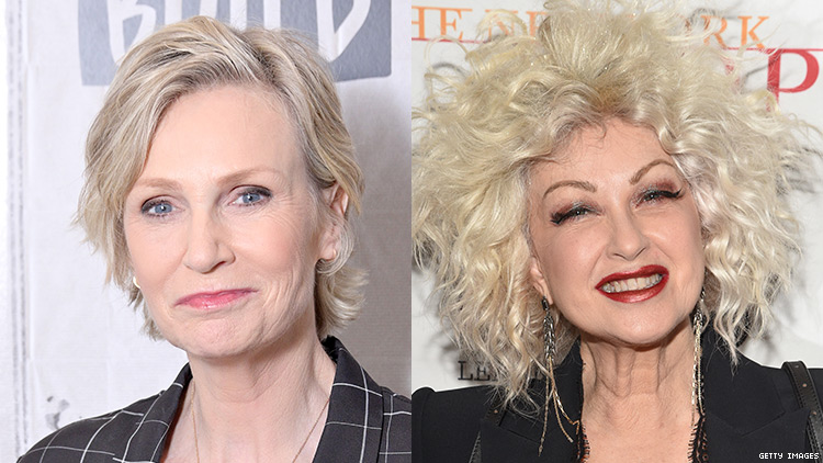 Jane Lynch and Cyndi Lauper to Star in ''Golden Girls' for Today'