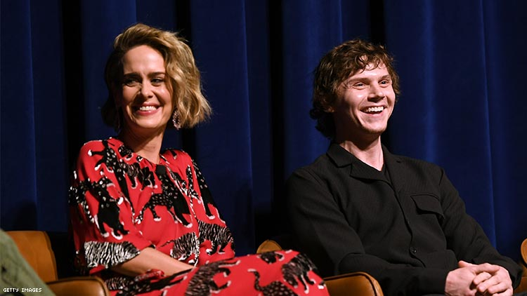 Sarah Paulson Will Only Return to 'AHS' If Evan Peters Does