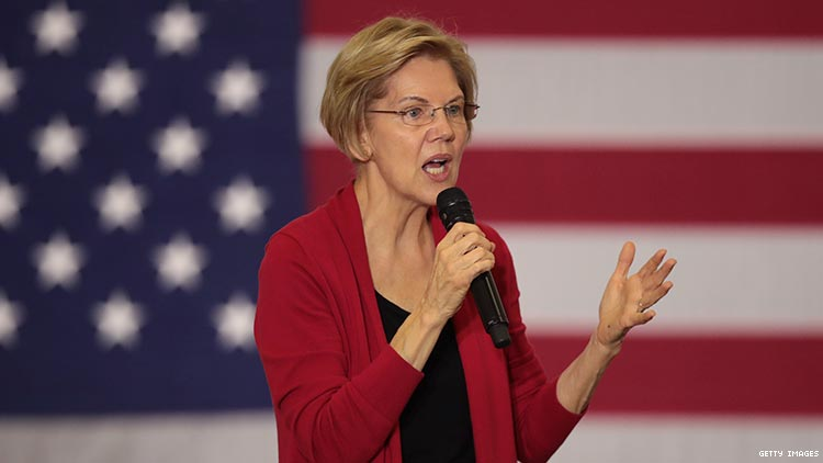 Warren Says She'll Overturn Trans Military Ban on Day One