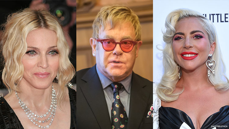 Elton John Says Madonna Was 'Ungracious and Nasty' to Lady Gaga