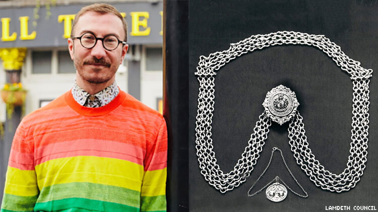 Philip Normal is UK's first openly HIV+ mayor
